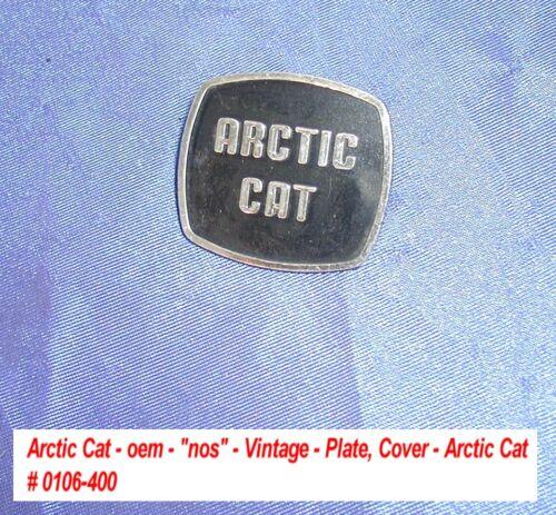 Console  # 0106-400 /'73 El Tigre  Vintage Cover-Arctic Cat Arctic Cat Plate
