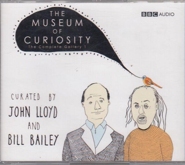 The Museum Of Curiosity Complete Gallery 1 3CD Audio John Lloyd Bill Bailey
