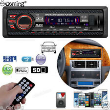 Car Auto Stereo Audio In-Dash Aux Input Receiver With SD USB FM MP3 Player USA