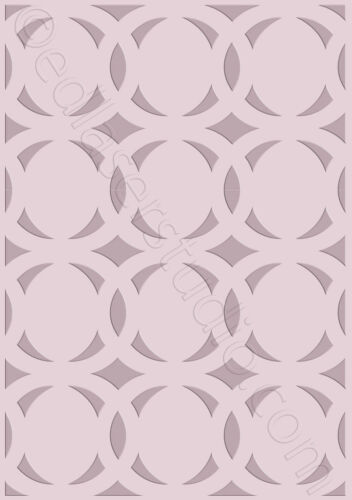 Moroccan Stencil Template Home Decor Paint Furniture Card making Crafts TE102