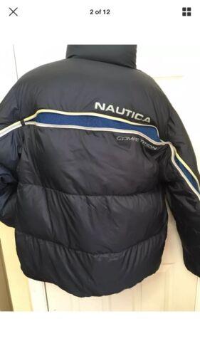 Nautica Down Bomber Puffer Jacket Sport. Sz XL