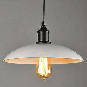 Industrial Ceiling Lights Chandelier White Pendant Light