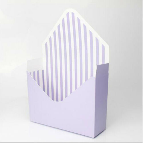 6 Style Romantic Envelope Flower Paper Holder Box Bouquet Florist Pack Supply
