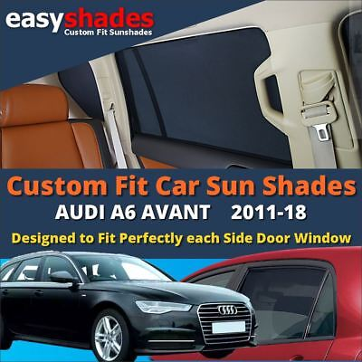 Set Car Shades compatible with Audi Q3 2011