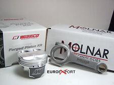 Honda CIVIC SOHC 96-00 D16Y8  10.5 compres 76mm Flat Top Pistons & Molnar Rods