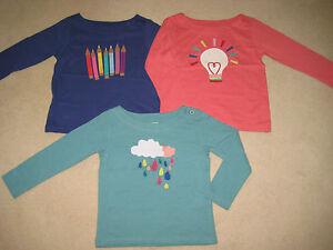 Mini-Boden-Con-Aplique-Camiseta-2A-14-anos-Ceras-CLARO-Bombilla-LLUVIA-NUBES