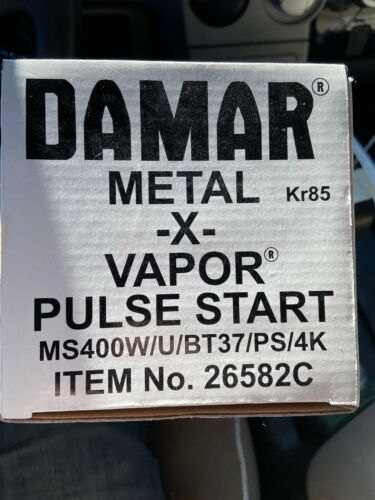 Damar 400 Watt Pulse Start Metal Halide MS400W//U//BT37//PS//4K
