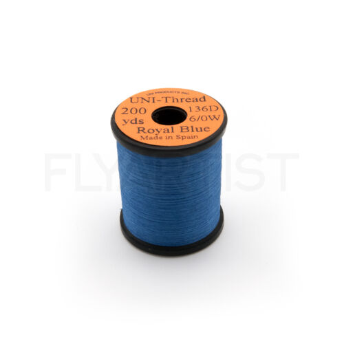 environ 182.88 m waxed Fly Tying /& Jig Thread-bobines de 200 Yd UNI THREAD 6//0 en 20+ Couleurs NEUF!