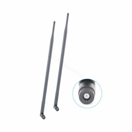 2x9dBi 2.4G 5G Dual Band WiFi RP-SMA Antenna for D-Link DIR-655 DIR-665 DIR-835