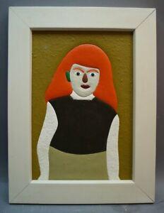 Peter M. Bauer (1946-2020) - Art Brut - Naive Kunst - Mädchen PB219