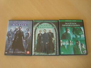 Matrix-Trilogie-The-complete-saga-lot-3-Dvd-039-s