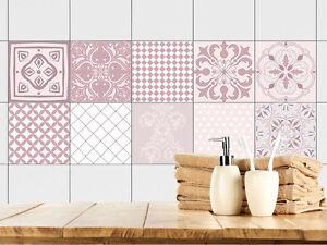 Details zu Fliesenbilder Klebefliesen Fliesen bekleben Bad Küche Set  Ornamente Mosaik