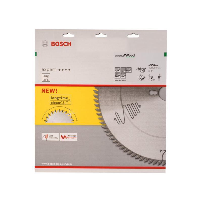 Bosch HM Sägeblatt Expert for Wood 300x30x3,2mm Z=26