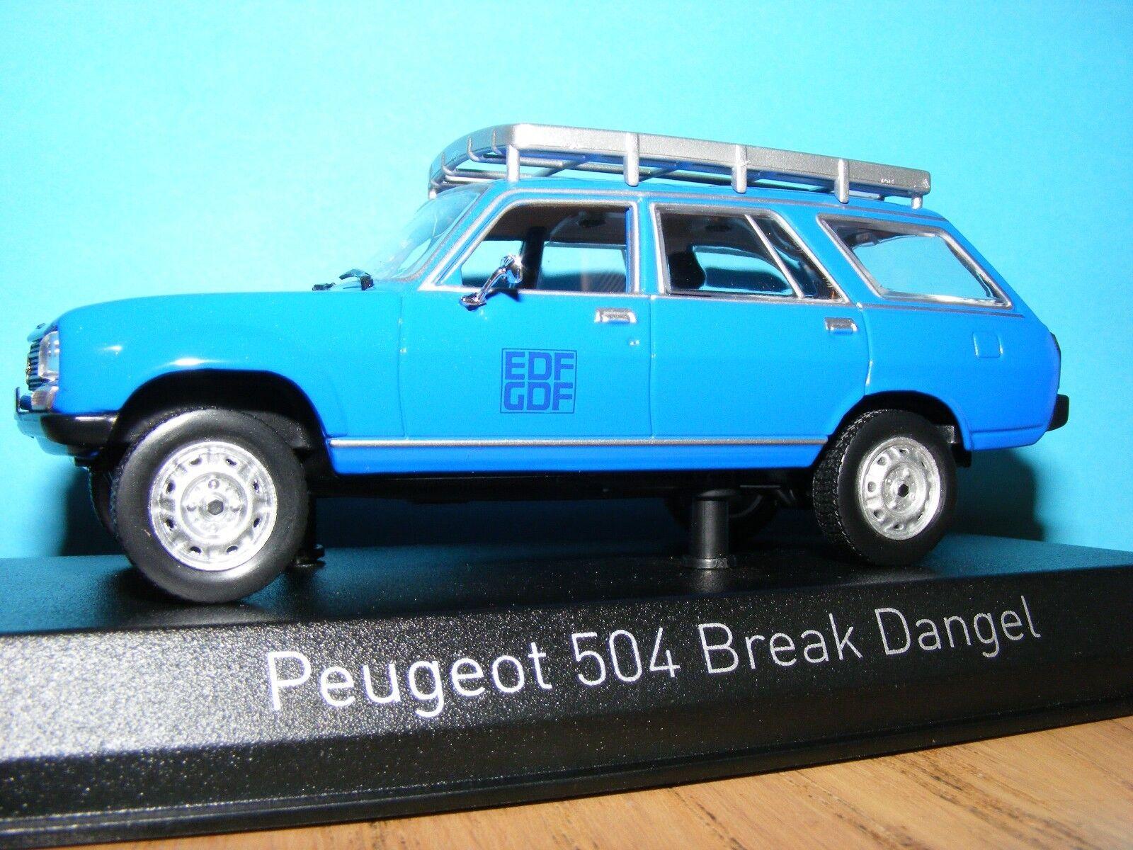 al precio mas bajo Peugeot 504 Estate para uso uso uso todo terreno 1982 EDF1 43RD modelo de escala Norev  envío rápido en todo el mundo