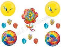 Tweety Bird Tie-dye Birthday Party Balloons Decoration Supplies Groovy Hippy