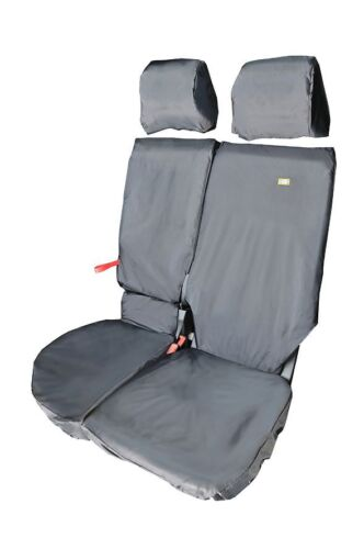 CPSBL Heavy Duty Seat Cover Ford Transit Connect 3//4 Passenger - Black 2014+