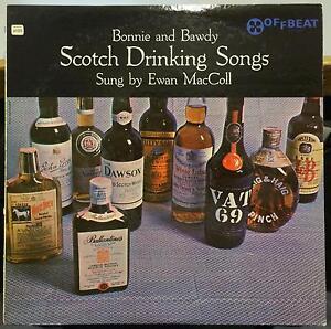 Details about Ewan Maccoll - Scotch Drinking Songs LP Mint- Promo OLP 4023  Vinyl 1956 Offbeat