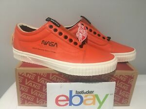 e0e8f887f1 NASA x Vans Old Skool Space Voyager Firecracker Red Orange USA Men s ...