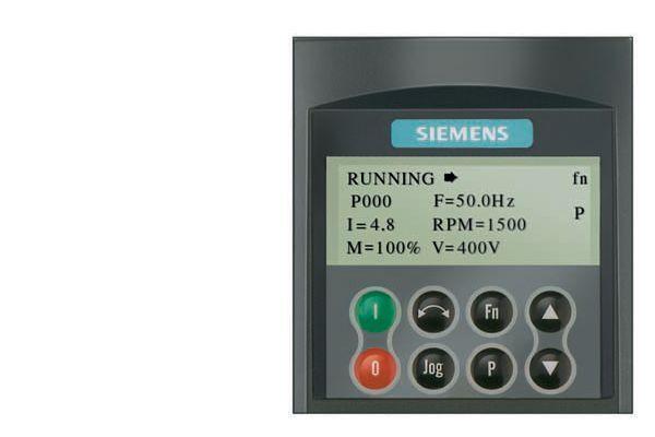 Siemens  Micromaster 4 Operator Panel