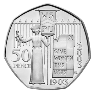 50p-pence-Suffragette-2003-2nd-rarest-coin-after-Kew-Garden-RARE-COLLECTIBLE