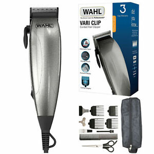 Wahl-complete-corded-barber-hair-clippers-haircut-head-shaver-trimmer-set-new