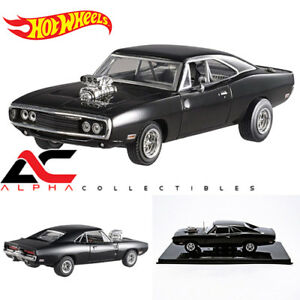 HOTWHEELS-ELITE-BLY27-1-43-1970-DODGE-CHARGER-034-THE-FAST-amp-FURIOUS-MOVIE-2001-034