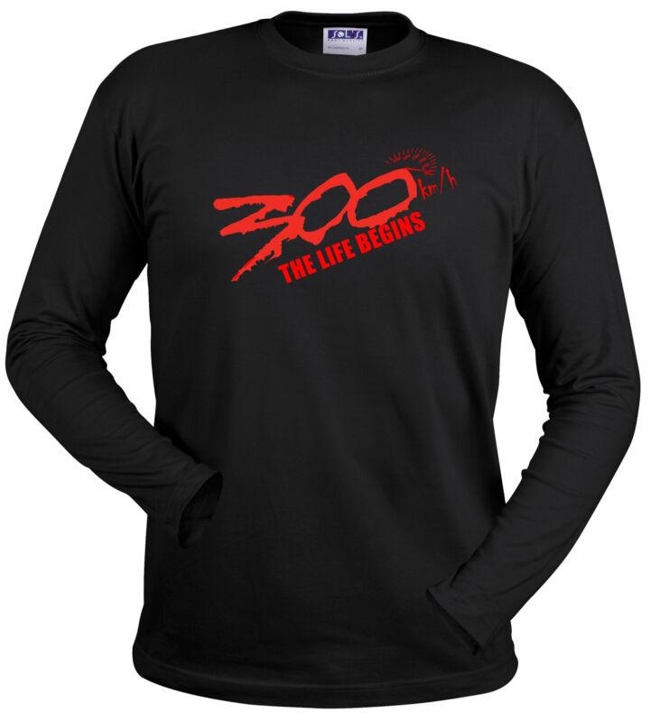 300 T Shirt Moto R1 Rr Gsxr 911 M3 M5 Turbo Nitro Dragster Race F1 Oder Kapuzen