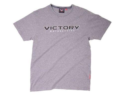 Victory Logo T-Shirt Grey