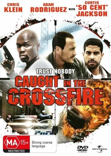 1 of 1 - Caught In The Crossfire (DVD, 2011) PAL Region 4 🇦🇺 Brand New Sealed