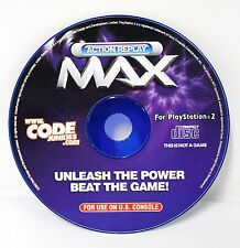 Playstation 2 Action Replay MAX Cheat Code, Paper Sleeve Datel 2003 PS2 [A30]