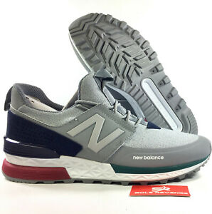 f333c8009 Details about New Mens (D) NB NEW BALANCE 574 SPORT - MEN'S Steel/Pigment  MS574DTC c1