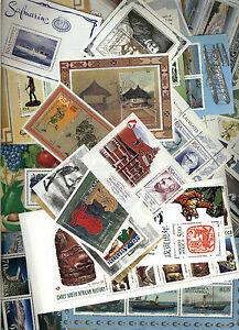 SOUTH AFRICA Stamp Collection - 48 x mini sheets / sheetlets - 7 scans - MNH