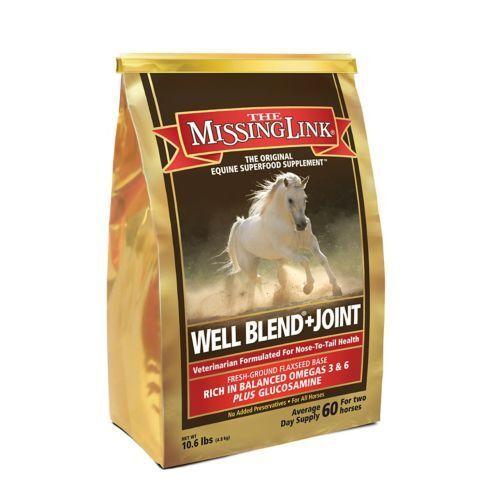Missing Link Equine Formula Hip & Joint Skin &  Coat Support for Horses 10.6 lb  official website