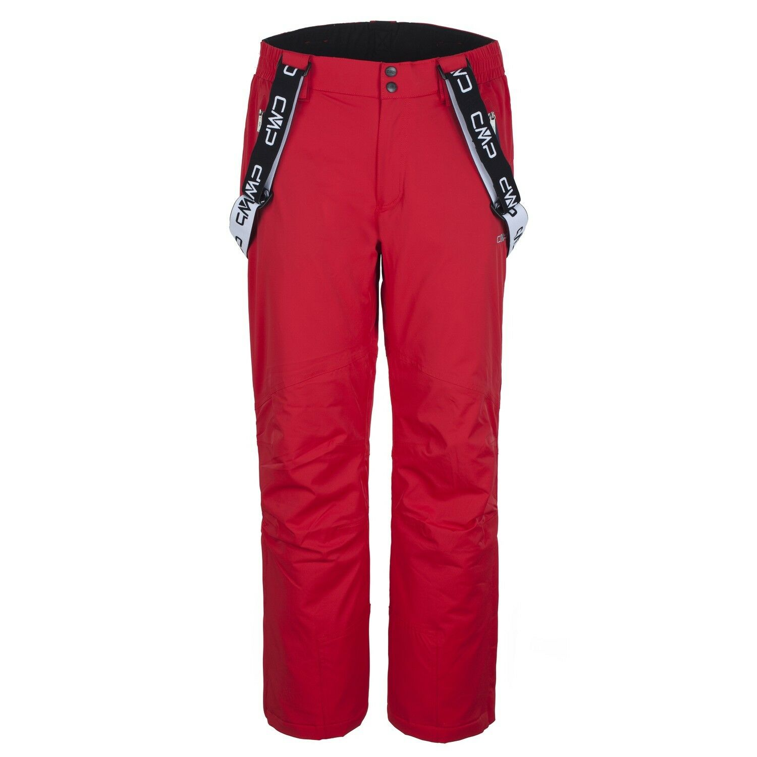 CMP Ski Trousers Snowboard Trousers One Trousers Red Windproof Waterproof