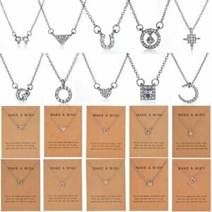 Men Women Music Words Pendant Necklace Stainless Steel Jewelry Family Gift Party