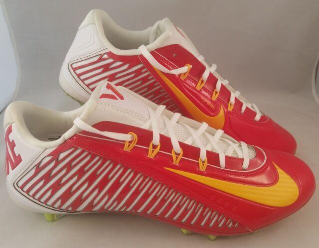 71e600e4bbf2 Nike Vapor Carbon Elite 2.0 TD Football Cleats Men's Size 14 Red White  Yellow