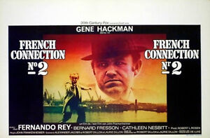 FRENCH-CONNECTION-II-1975-Gene-Hackman-Fernando-Rey-BELGIAN-POSTER