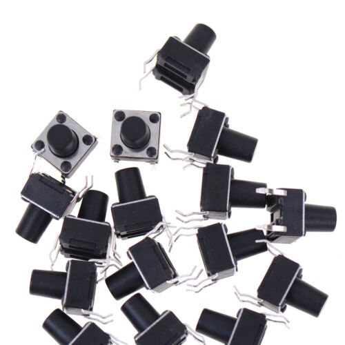 50X 6*6*8mm Tactile Push Button Switch Tact Switch Micro Switch 4-Pin WFIT