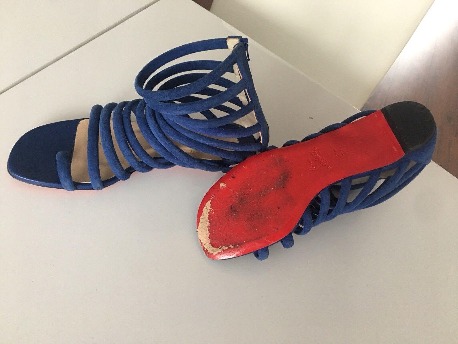 Christian louboutin Catchetta Flat Gladiator Sandals