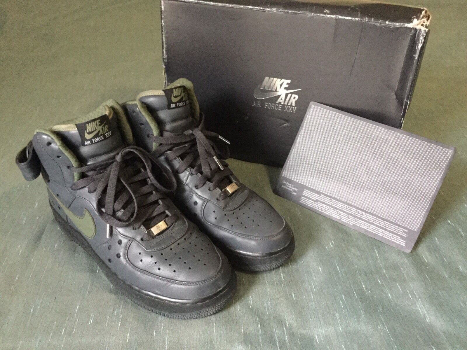 Nike Air Force 1 High Premium Charles Barkley Pack 317312-031 anthracite size 9