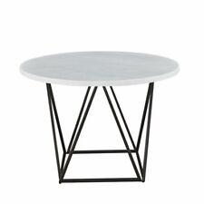 Steve Silver Verano 45 Round Glass Top Dining Table in Espresso