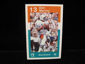 1984-Dan-Marino-RC-Miami-Dolphins-Police-Card-Mint