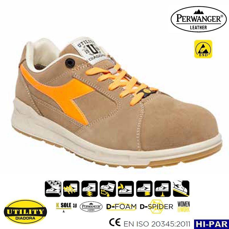 Sécurité de Travail Chaussures DIADORA utilitaire Original Neuf 019 Jump Sabots Bottes -30%