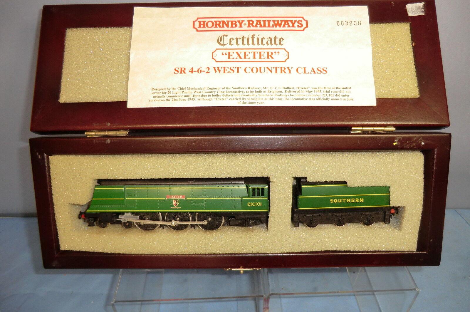 HORNBY  PRESENTATIONAL  MODEL No.R265 SR Class BB 4-6-2  EXETER   LOCO  VN MIB