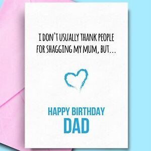 Image Is Loading Funny Birthday Cards For Dad From Daughter Son
