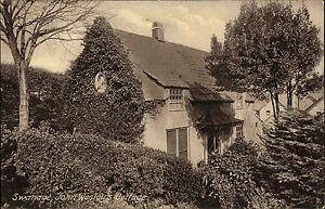 Swanage-England-Dorset-alte-AK-1910-John-Wesley-Cottage-Landhaus-House-Wohnhaus