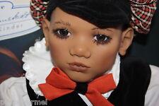 Annette Himstedt  Takuma 10 Jahres Kind aus Vynil mit Extra Kleidung Top-Zustand