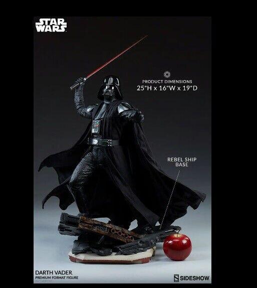 Stjärnornas krig Dkonsth Vader Premium Format Figur sideshow 300541