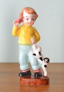 Vintage-ceramic-boy-50s-pepper-shakers-Japan-kitsch-mid-century-figurine