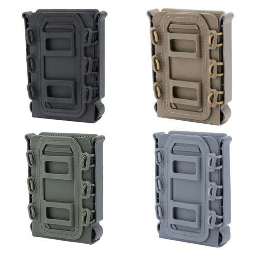 Soft Shell Scorpion Rifle Mag Carrier 5.56 7.62 Magazine Pouch MOLLE Holder